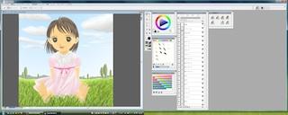 デュアルモニタでの Painter のツールの配置