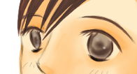 瞳の光沢を描く